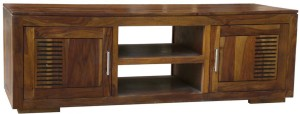 Evok Diamond Solid Wood TV Entertainment Unit