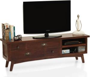 TheArmChair Prague Solid Wood TV Entertainment Unit