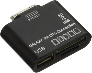 C&E TV-out Cable OEM USB OTG Connection Kit and Card Reader for Samsung Galaxy