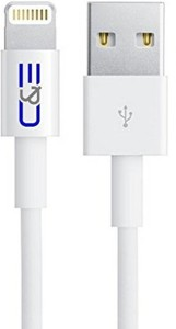 C&E  TV-out Cable Apple MFI Certified 8P Lightning to USB Cable 6.56-Feet for iPhone 6S/6SPlus, 6/6 Plus, 5/5S/5C, iPad Air Air2 mini mini2 mini3, iPad 4th gen, iPod touch 5th gen, and iPod nano 7th gen iPad with Retina Display - 2-Pack - Data Cable - Retail Packaging - White