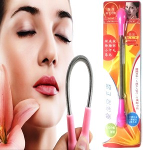 SENECIO™ 'S Facial Hair Remover Spring Stick Epilator Threading Epistick