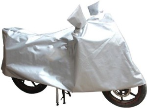 AutoBurn Two Wheeler Cover for HeroElectric, Silver