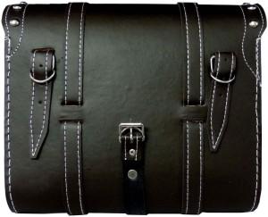 OSS-FUEL Saddle Bag For H.D St-15 One-side Brown Leatherette Motorbike  Saddlebag4 L ca6dc0fc7fd6f