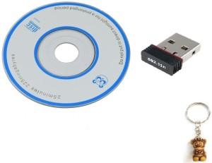 Terabyte Wifi Dongle 802.11n Wi Fi 2.4GHz 300Mbps Small Wireless LAN Network Card External PC Desktop Laptop USB Adapter