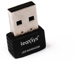 Leoxsys Wireless 11 AC 600Mbps WiFi USB Adapter