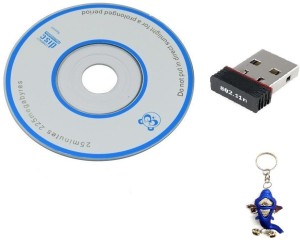 Adnet Mini 2.4Ghz Wireless Wifi Dongle 300Mbps 802.11n Connector 2.0 USB Adapter