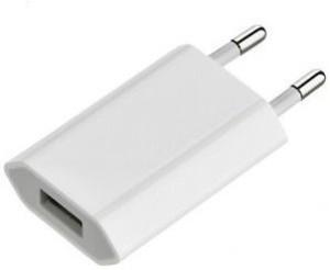 De-TechInn 2 Pin Universal Plug Wall Charging USB Adapter