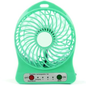 Big Square Portable Battery Operated Powerful Rechargeable USB Fan