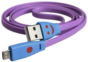Connectwide Smiley USB charging cable CW-278 USB Cable