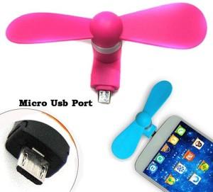 Roboster High Speed Wireless Rechargeable Mini cooler RBSfan1 USB Fan