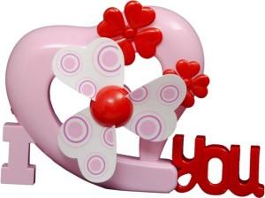Montez Portable I Love You Design Rechargeable P143 USB Fan