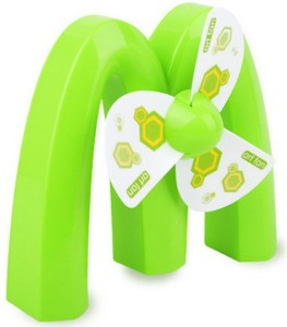 Finger's Rechargeable Cooling M Shaped USB Fan
