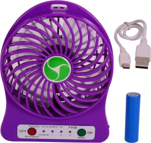 Sunnex Mini Portable Rechargeable S 1 MF USB Fan