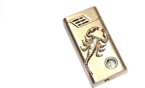 AdorBella Golden bronze stone embedded windproof 1Z Cigarette Lighter