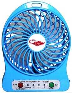 Shopimoz High Speed Pack of 1 Mini Portable USB Fan