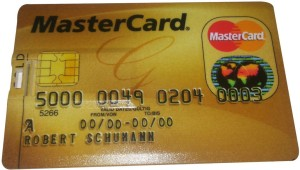 Flintstop MasterCard Pen drive 8gb MasterCard Pen drive 8gb Laptop Accessory