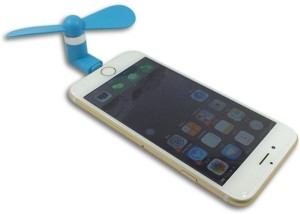 V2 MINI MOBILE COOLER FOR IPHONE 5 5S 6 6PLUS 8 Pin USB Fan