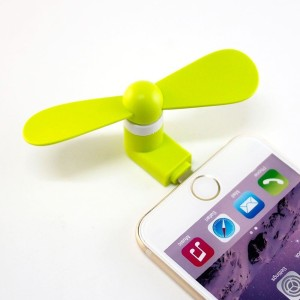 Kolorfish iFunny Portable Mini Lightning GR USB Fan
