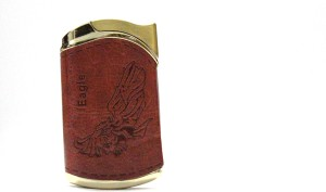 Zip Leather Cover z12 Cigarette Lighter