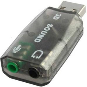 Technuv 5.1 USB Audio Adopter 3D-BT1 Sound Card