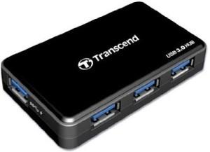 Transcend Super Fast Speed USB 3.0 4 Port USB 3 Hub with power Adaptor HUB3 USB Hub