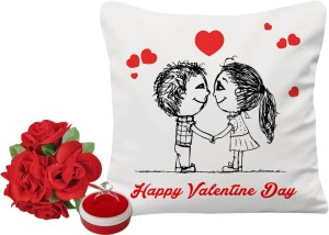 Sky Trends Valentine Gift For Girlfriend Printed Cushion Cover