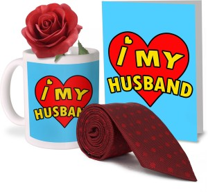 Tiedribbons Valentine Day Gifts For Hubby Combo 1 Printed Coffee Mug