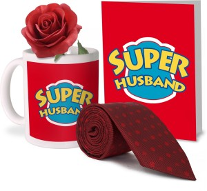 Tiedribbons Valentine Gift For Hubby Combo 1 Printed Coffee Mug 1