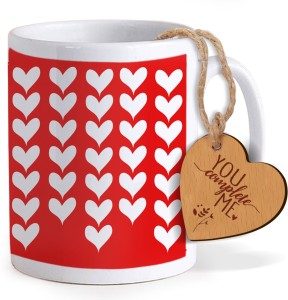 96034506ac380 Tiedribbons Valentine s Day Romantic Special Gifts for Husband Coffee Mug  with Wooden tag Mug Gift S Best Price in India