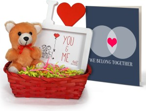 Tiedribbons Valentine Gift For Boyfriend Combo Pack Small Teddy