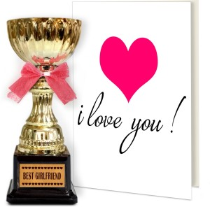 Tiedribbons valentine day gifts for husband best husband ever tiedribbons valentine day gifts for husband best husband ever engraved golden trophy with greeting card greeting m4hsunfo