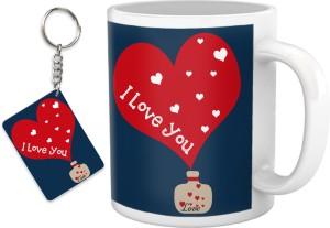 Tiedribbons I Love You Valentine S Day Gift For Husband Wife Mug