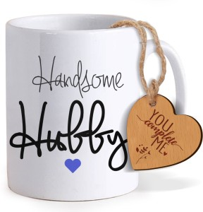 Tied Ribbons Valentine Day Romantic Gifts For Husband Coffee Mug With Wooden Tag Mug Gift Set Best Price In India Tied Ribbons Valentine Day Romantic Gifts For Husband Coffee Mug With