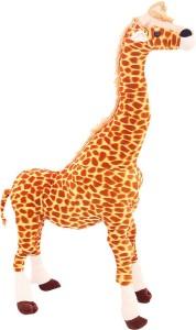 DealBindaas Standing Giraffe Stuff Animal 60 Cms  - 600 mm