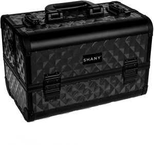 Shany Fantasy Collection Makeup Artist Makeup Vanity Box Black
