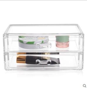 Divinext Luxury Acrylic Cosmetic Makeup Vanity Box