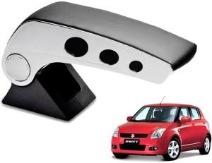 Kozdiko Round Chrome Black RMA56 Car ArmrestMaruti, Swift
