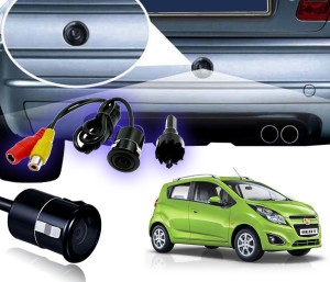 Auto Pearl Waterproof Car Rear View Night Vision Reversing Parking For -  Chevrolet Beat Vehicle Camera System