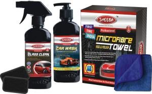 Sheeba Clean and Wash Pack Liquid Vehicle Glass Cleaner