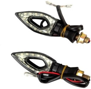 AutoSwag Front, Rear LED Indicator Light for Bajaj Pulsar 150Red