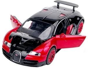 Mak Bugatti Veyron Alloy Diecast Car Model Collection Light Sound