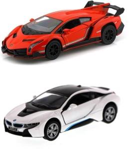 i-gadgets Lamborghini Veneno Org and Bmw i8 SlvMulticolor
