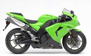 New Ray 1 18 Kawasaki Ninja Zx 6rr Diecast Motorcycle Green Best