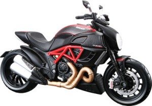 Maisto Ducati Diavel Carbon Black Red Best Price In India Maisto