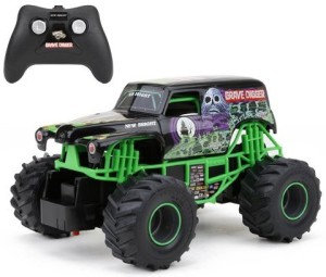 07236cd468cff New Bright Monster Jam Grave Digger Rc Truck Green Best In