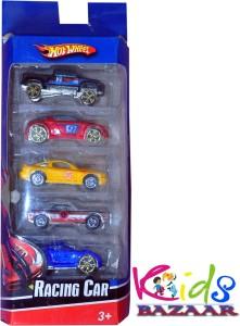 Kids Bazaar Hot Wheel Racing Car Set of 5
