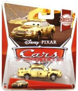 Disney Pixar Cars, Rust-Eze Racing Die-Cast Vehicle, Donna PitsGolden