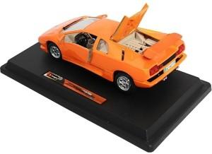 Bburago 1 24 Licensed Lamborghini Diablo Diecast Model Car Orange