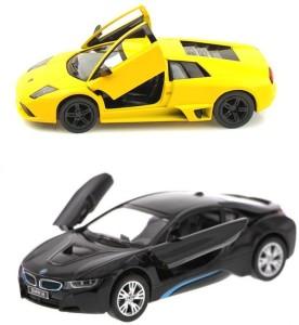 Kinsmart Lamborghini Murcielago And Bmw I8 Yellow Black Best Price