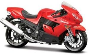 Maisto Kawasaki Ninja Zx 14r 1 18 Toy Bike Model Red Best Price In